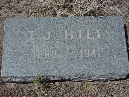 HILL, T J - Maricopa County, Arizona | T J HILL - Arizona Gravestone Photos