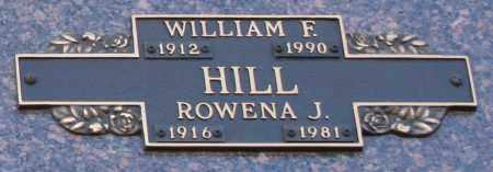 HILL, ROWENA J - Maricopa County, Arizona | ROWENA J HILL - Arizona Gravestone Photos