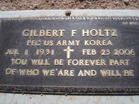 HOLTZ, GILBERT F. - Maricopa County, Arizona | GILBERT F. HOLTZ - Arizona Gravestone Photos