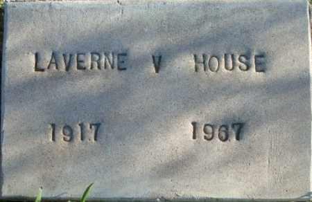 HOUSE, LAVERNE V. - Maricopa County, Arizona | LAVERNE V. HOUSE - Arizona Gravestone Photos
