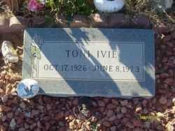 IVIE, TONI - Maricopa County, Arizona | TONI IVIE - Arizona Gravestone Photos
