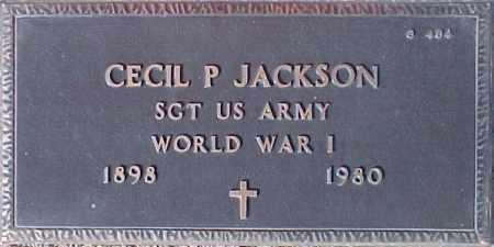 JACKSON, CECIL P. - Maricopa County, Arizona   CECIL P. JACKSON - Arizona Gravestone Photos