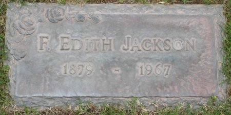 JACKSON, F EDITH - Maricopa County, Arizona | F EDITH JACKSON - Arizona Gravestone Photos
