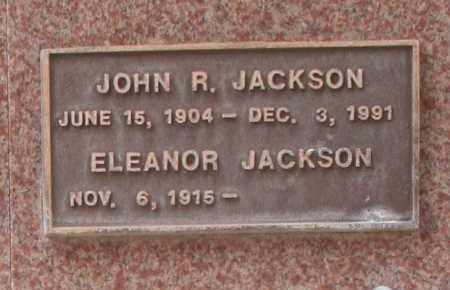 JACKSON, JOHN R. - Maricopa County, Arizona | JOHN R. JACKSON - Arizona Gravestone Photos