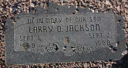 JACKSON, LARRY O. - Maricopa County, Arizona   LARRY O. JACKSON - Arizona Gravestone Photos