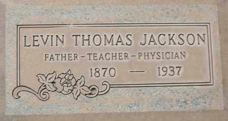 JACKSON, LEVIN THOMAS - Maricopa County, Arizona | LEVIN THOMAS JACKSON - Arizona Gravestone Photos