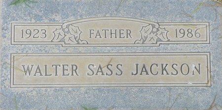 JACKSON, WALTER SASS - Maricopa County, Arizona | WALTER SASS JACKSON - Arizona Gravestone Photos