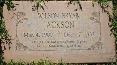 JACKSON, WILSON BRYAN - Maricopa County, Arizona | WILSON BRYAN JACKSON - Arizona Gravestone Photos