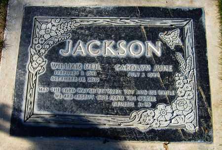 JACKSON, WILLIAM NEIL - Maricopa County, Arizona | WILLIAM NEIL JACKSON - Arizona Gravestone Photos