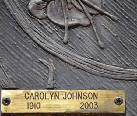 JOHNSON, CAROLYN - Maricopa County, Arizona | CAROLYN JOHNSON - Arizona Gravestone Photos