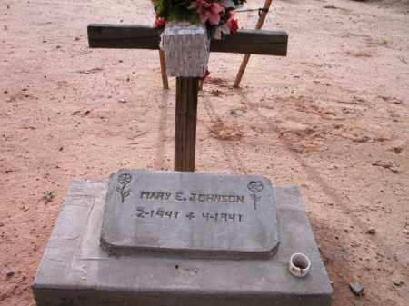 JOHNSON, MARY E. - Maricopa County, Arizona | MARY E. JOHNSON - Arizona Gravestone Photos
