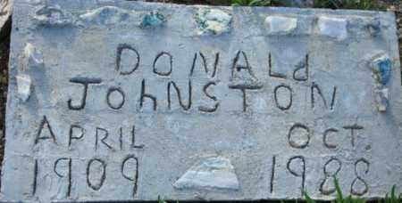 JOHNSTON, DONALD - Maricopa County, Arizona | DONALD JOHNSTON - Arizona Gravestone Photos