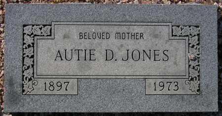 JONES, AUTIE D. - Maricopa County, Arizona | AUTIE D. JONES - Arizona Gravestone Photos