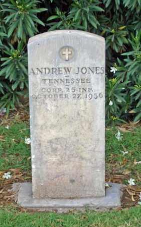 JONES, ANDREW - Maricopa County, Arizona   ANDREW JONES - Arizona Gravestone Photos
