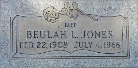JONES, BEULAH L - Maricopa County, Arizona   BEULAH L JONES - Arizona Gravestone Photos