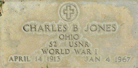 JONES, CHARLES B - Maricopa County, Arizona | CHARLES B JONES - Arizona Gravestone Photos