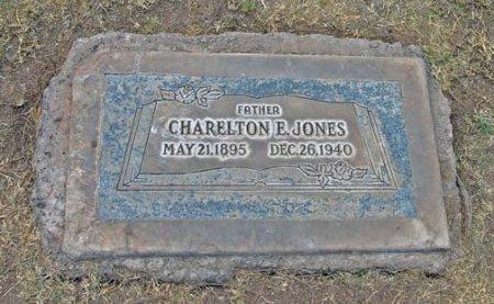 JONES, CHARELTON E. - Maricopa County, Arizona | CHARELTON E. JONES - Arizona Gravestone Photos