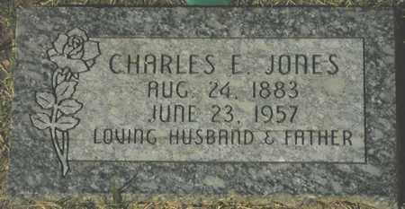 JONES, CHARLES E. - Maricopa County, Arizona | CHARLES E. JONES - Arizona Gravestone Photos