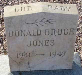 JONES, DONALD BRUCE - Maricopa County, Arizona   DONALD BRUCE JONES - Arizona Gravestone Photos