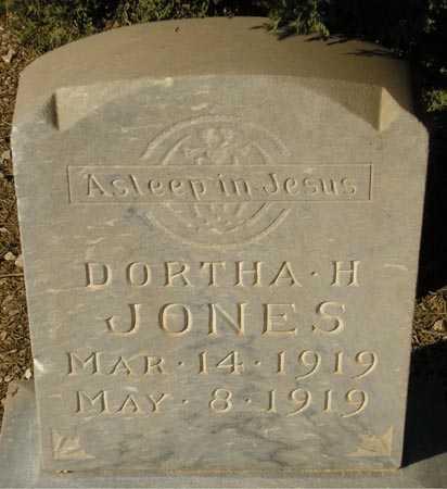 JONES, DORTHA H. - Maricopa County, Arizona | DORTHA H. JONES - Arizona Gravestone Photos