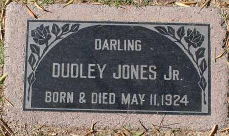 JONES, DUDLEY, JR. - Maricopa County, Arizona | DUDLEY, JR. JONES - Arizona Gravestone Photos