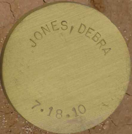 JONES, DEBRA - Maricopa County, Arizona | DEBRA JONES - Arizona Gravestone Photos