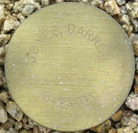 JONES, DARREN - Maricopa County, Arizona | DARREN JONES - Arizona Gravestone Photos