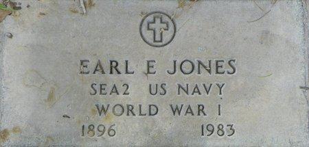 JONES, EARL E - Maricopa County, Arizona | EARL E JONES - Arizona Gravestone Photos