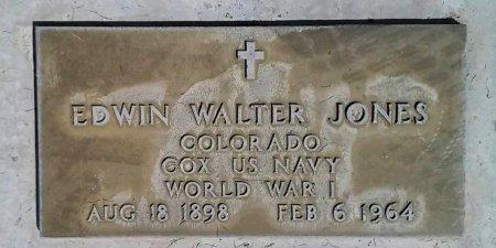 JONES, EDWIN WALTER - Maricopa County, Arizona | EDWIN WALTER JONES - Arizona Gravestone Photos