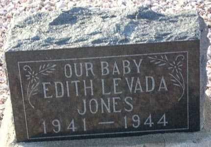 JONES, EDITH LEVADA - Maricopa County, Arizona   EDITH LEVADA JONES - Arizona Gravestone Photos