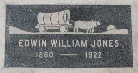 JONES, EDWIN WILLIAM - Maricopa County, Arizona | EDWIN WILLIAM JONES - Arizona Gravestone Photos