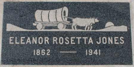 JONES, ELEANOR ROSETTA - Maricopa County, Arizona | ELEANOR ROSETTA JONES - Arizona Gravestone Photos