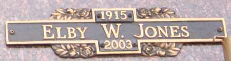JONES, ELBY W - Maricopa County, Arizona | ELBY W JONES - Arizona Gravestone Photos