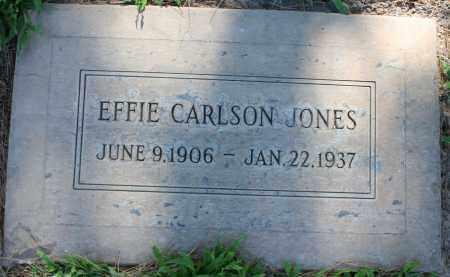 JONES, EFFIE CECILIA - Maricopa County, Arizona | EFFIE CECILIA JONES - Arizona Gravestone Photos