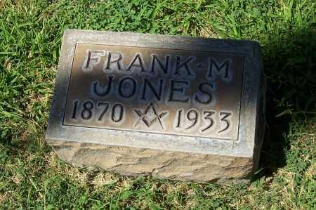JONES, FRANK M. - Maricopa County, Arizona   FRANK M. JONES - Arizona Gravestone Photos