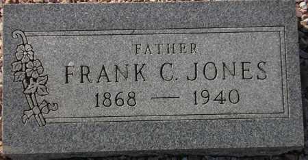 JONES, FRANK C. - Maricopa County, Arizona   FRANK C. JONES - Arizona Gravestone Photos