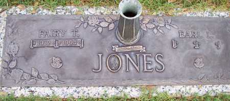 JONES, EARL L. - Maricopa County, Arizona | EARL L. JONES - Arizona Gravestone Photos