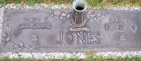 JONES, FAIRY T. - Maricopa County, Arizona | FAIRY T. JONES - Arizona Gravestone Photos