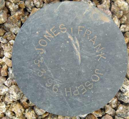 JONES, FRANK JOSEPH - Maricopa County, Arizona   FRANK JOSEPH JONES - Arizona Gravestone Photos