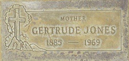 JONES, GERTRUDE - Maricopa County, Arizona | GERTRUDE JONES - Arizona Gravestone Photos