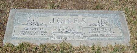 JONES, GLENN D. - Maricopa County, Arizona | GLENN D. JONES - Arizona Gravestone Photos