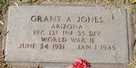 JONES, GRANT A - Maricopa County, Arizona   GRANT A JONES - Arizona Gravestone Photos