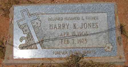 JONES, HARRY K. - Maricopa County, Arizona   HARRY K. JONES - Arizona Gravestone Photos