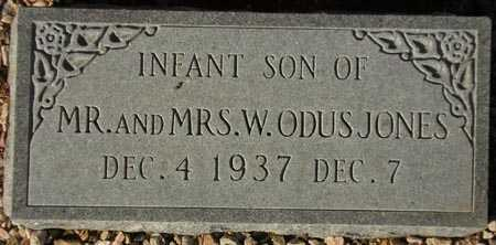 JONES, INFANT SON - Maricopa County, Arizona | INFANT SON JONES - Arizona Gravestone Photos