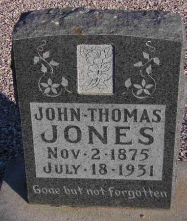 JONES, JOHN THOMAS - Maricopa County, Arizona | JOHN THOMAS JONES - Arizona Gravestone Photos