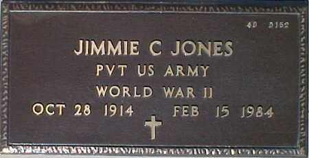 JONES, JIMMIE C. - Maricopa County, Arizona   JIMMIE C. JONES - Arizona Gravestone Photos