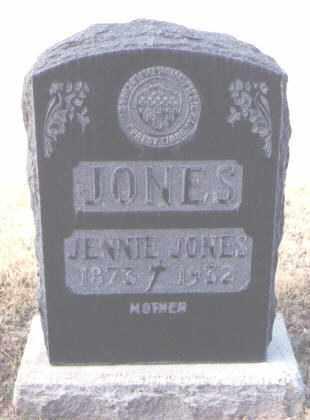JONES, JENNIE - Maricopa County, Arizona | JENNIE JONES - Arizona Gravestone Photos
