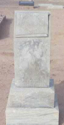JONES, JOHN A. - Maricopa County, Arizona | JOHN A. JONES - Arizona Gravestone Photos