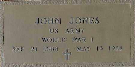 JONES, JOHN - Maricopa County, Arizona | JOHN JONES - Arizona Gravestone Photos