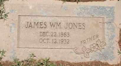 JONES, JAMES WILLIAM - Maricopa County, Arizona   JAMES WILLIAM JONES - Arizona Gravestone Photos